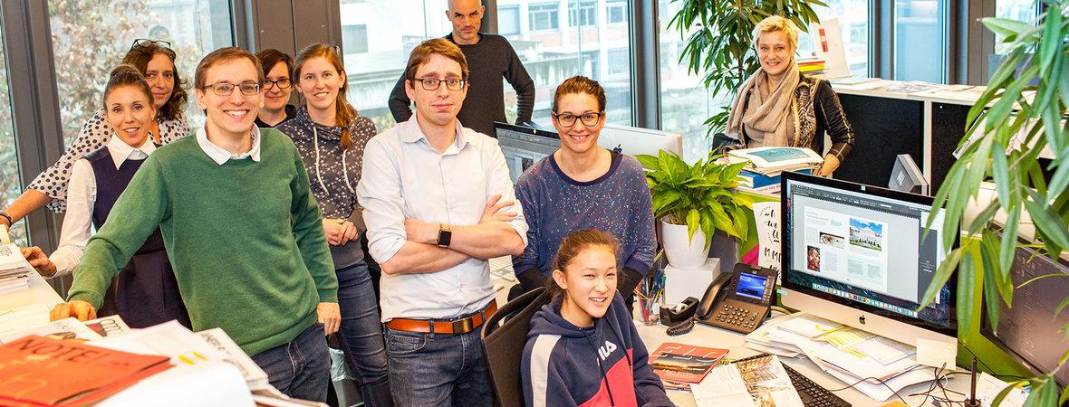 Mitarbeiter von Egger & Lerch mit Luna Rang