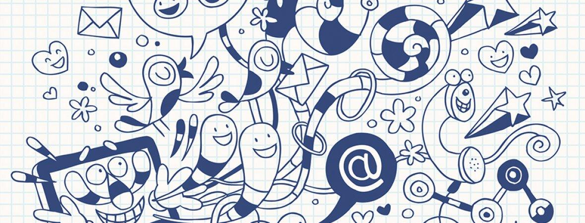 Twitter und SMS: Die welt der kurzen Wörter und einfachen Sätzen. · Foto: © Alias-Ching / Thinkstock
