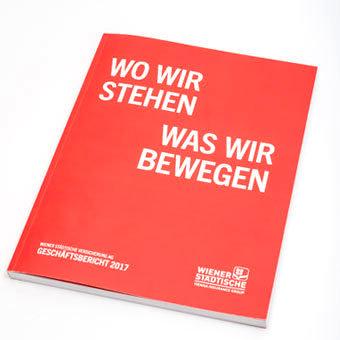 Wr. Städtische Geschäftsbericht 2017 Cover