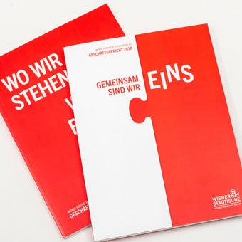 Wr. Städtische Geschäftsbericht 2017/2018 Cover