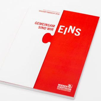 Wr. Städtische Geschäftsbericht 2018 Cover